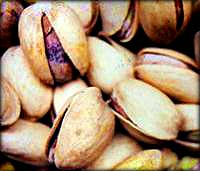 Picture of pistachios.