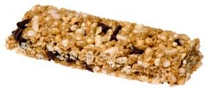 Picture of granola bar or muesli bar.