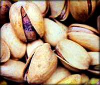 Picture of pistachios.