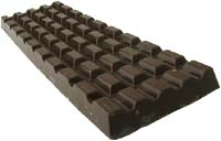 Lovely dark chocolate bar