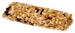 Picture of granola bar or muesli bar.