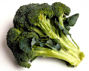 Broccoli is a good plant for lowering cholesterol naturally.