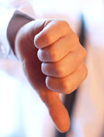 Good cholesterol foods: Thumbs down for bad cholesterol.
