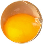 Lower cholesterol naturally by avoiding egg yolks.