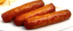 Lower cholesterol naturally by avoiding processsed foods such as fried sausages.