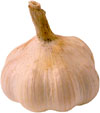 Lower cholesterol naturally by eating garlic.