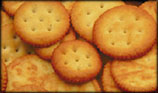 Lower cholesterol naturally by avoiding pre-packaged foods such as salty crackers.