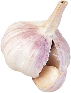Garlic is great as a cholesterol lowering supplement.