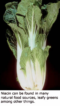 Many good cholesterol foods contain niacin: Leafy green are good for lowering cholesterol.