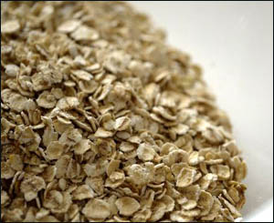 Oats are great for lowering cholesterol.