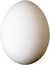 How to lower ldl cholesterol with eggs: Eat the egg whites.