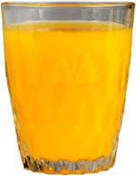 How to lower ldl cholesterol with liquids: a glass of orange juice.