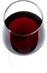 A glass of red wine is known to lower your cholesterol levels.