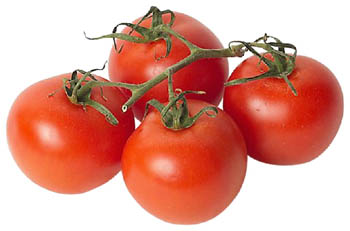 Tomatos are good cholesterol foods.