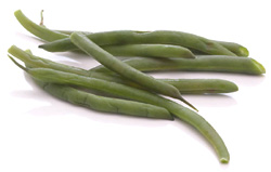 Green beans hinder the absorbtion of cholesterol.
